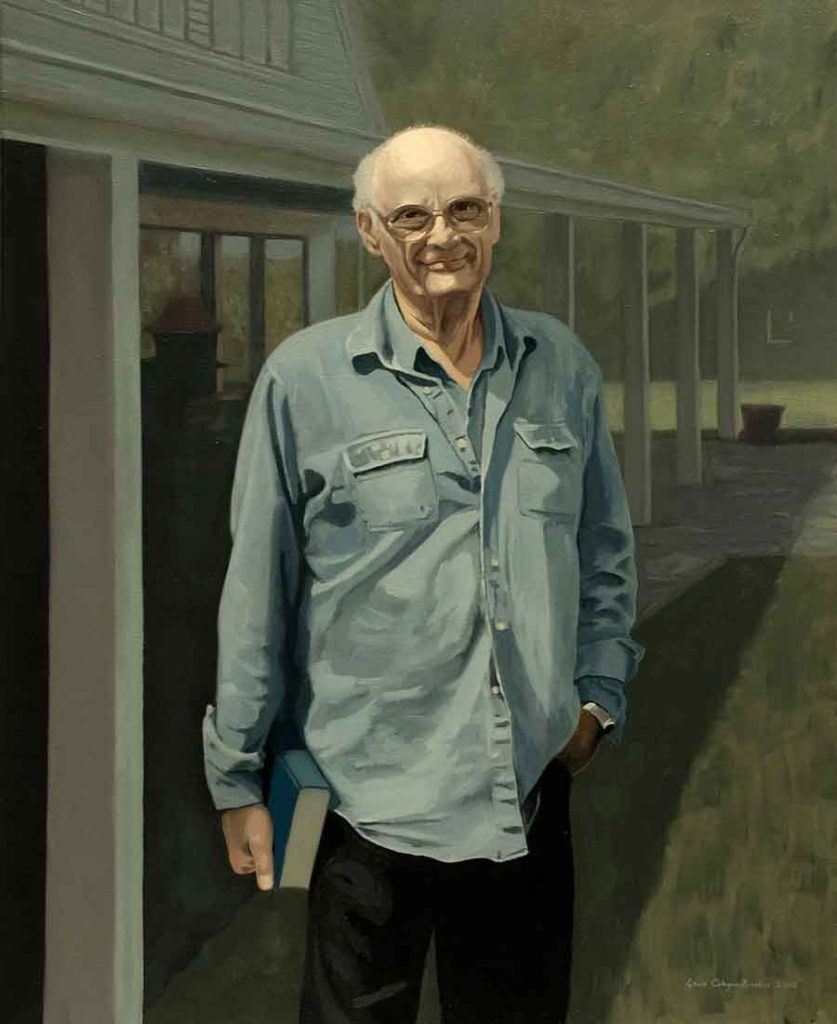 Arthur Miller - Oil Portrait Painting by Gavin Cologne-Brookes