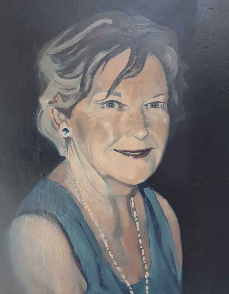 Bobbi - Oil Portrait Painting by Gavin Cologne-Brookes