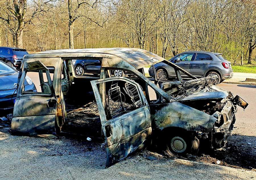 Burn-Out, Bois de Boulogne - Photographs by Gavin Cologne-Brookes