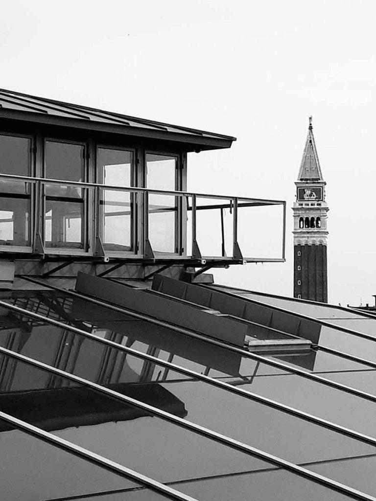 Fondaco Dei Tedeschi Rooftop, Venice - Photograph by Gavin Cologne-Brookes