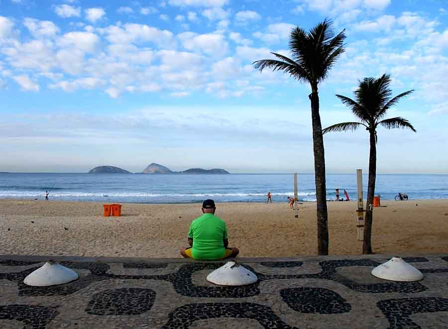 Copacabana, Rio - Photograph by Gavin Cologne-Brookes