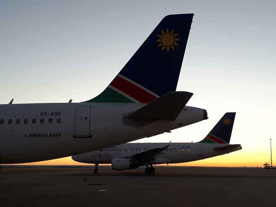 Dawn, Windhoek - Photograph by Gavin Cologne-Brookes
