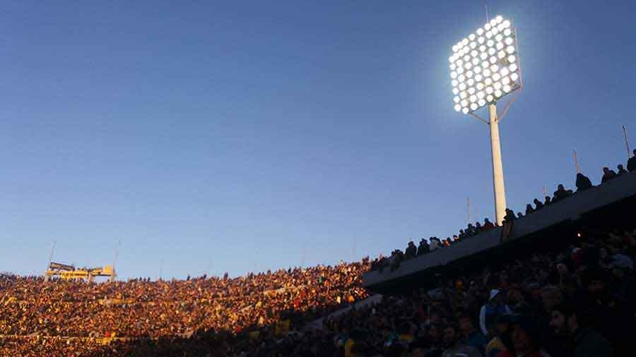 Estadio Centenario, Montevideo - Photograph by Gavin Cologne-Brookes