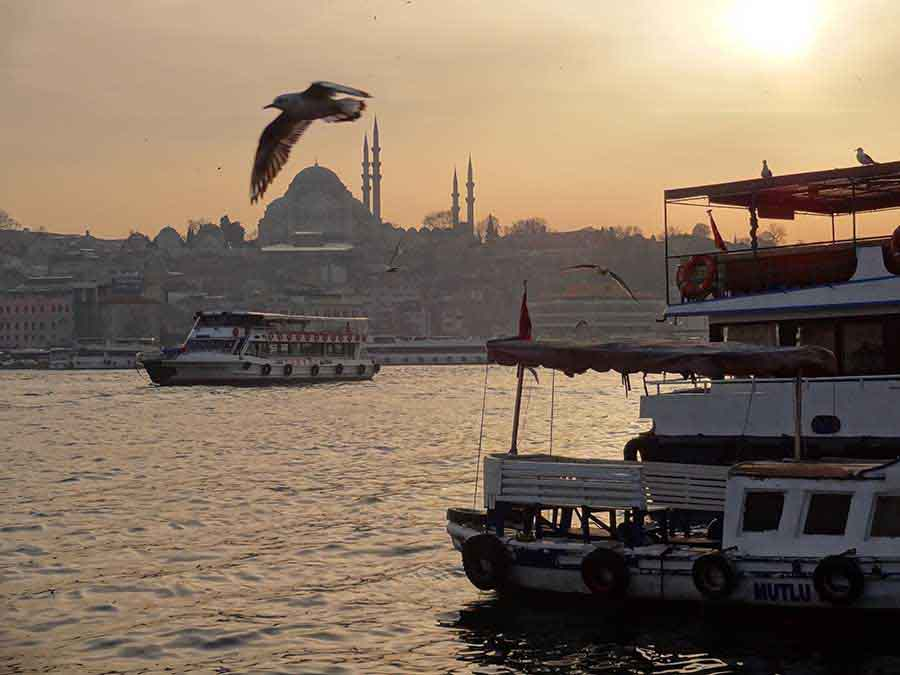 Golden Horn, Istanbul - Photograph by Gavin Cologne-Brookes