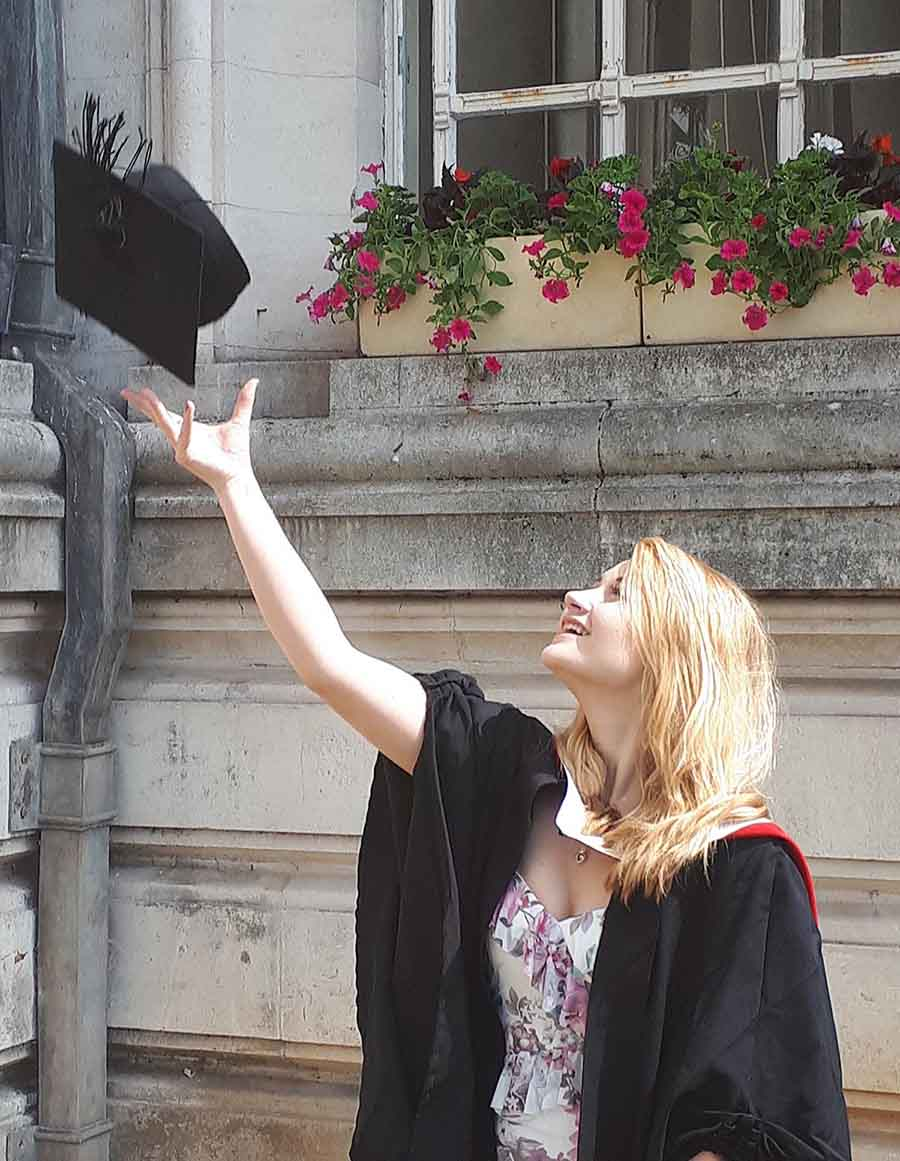 Graduation, Cardiff - Photographs by Gavin Cologne-Brookes
