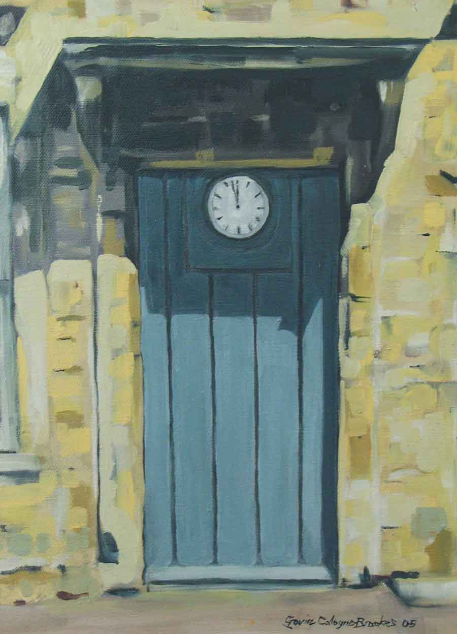 High Noon - Oil Painting by Gavin Cologne-Brookes