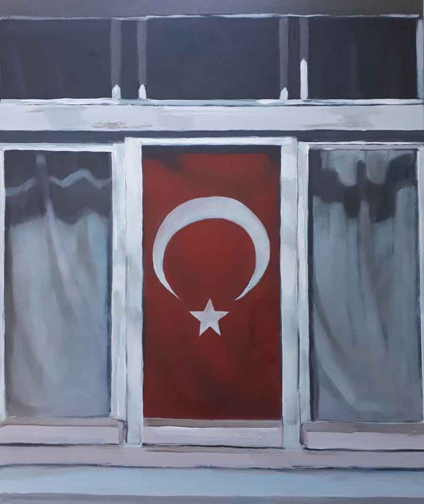 Istanbul - Oil Painting by Gavin Cologne-Brookes