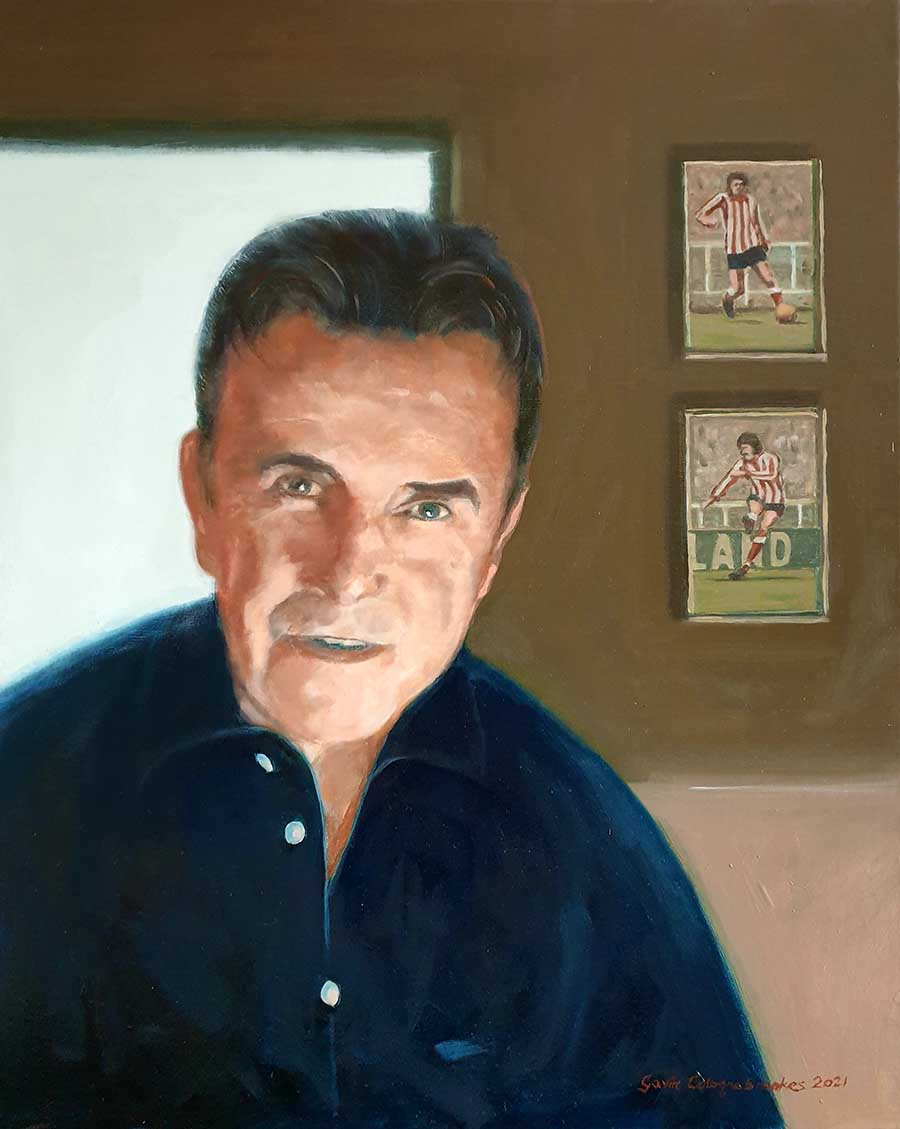 John Strachan - Oil Painting by Gavin Cologne-Brookes