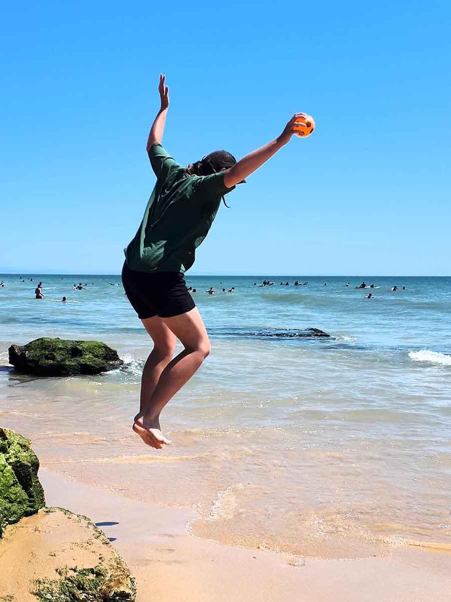 Jump, Carcavelos, Lisbon - Photographs by Gavin Cologne-Brookes