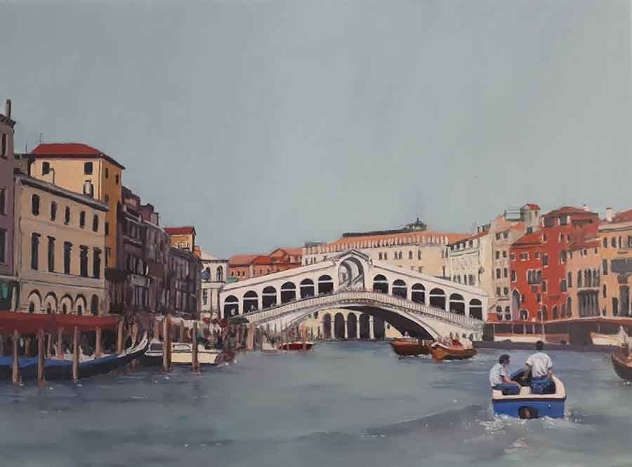 Rialto - Oil Painting by Gavin Cologne-Brookes