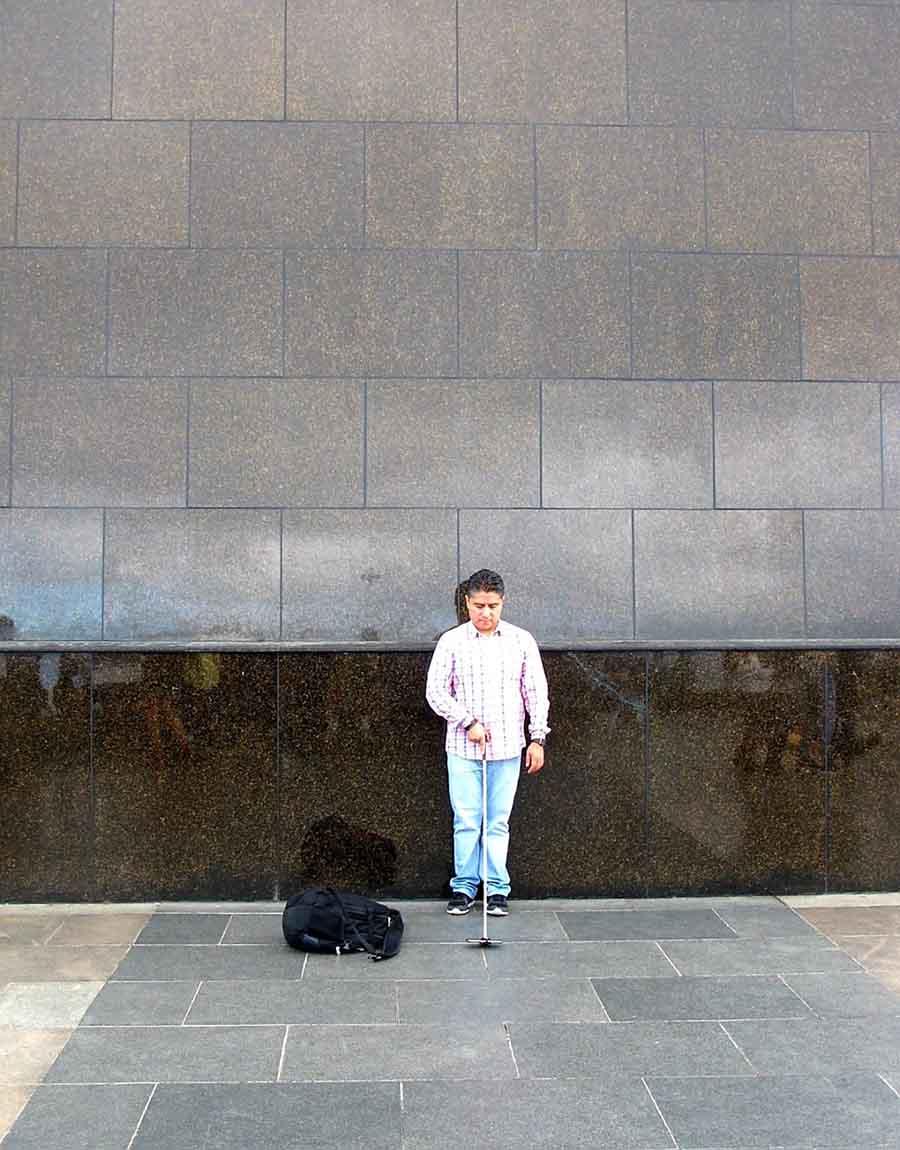 Selfie, Cristo Redentor, Rio - Photographs by Gavin Cologne-Brookes