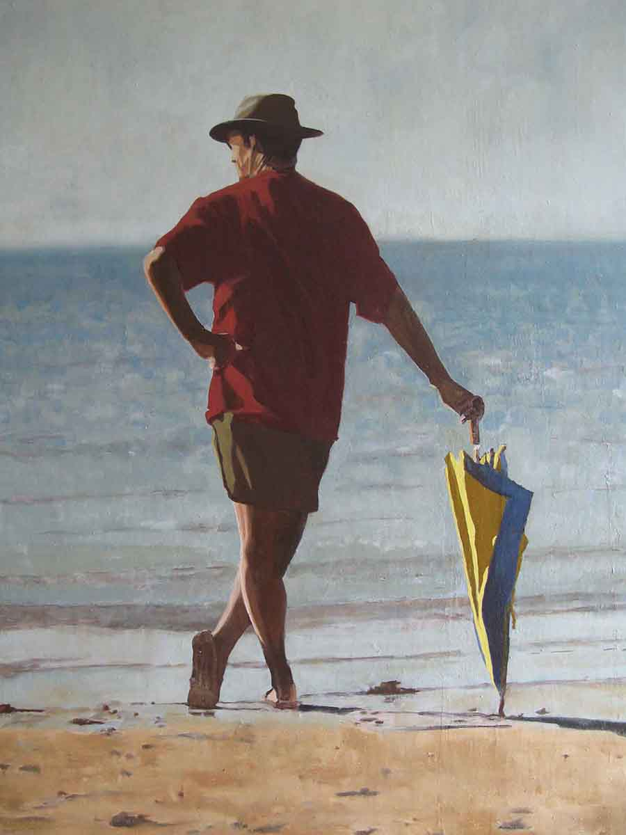 Simple Man - Oil Painting by Gavin Cologne-Brookes