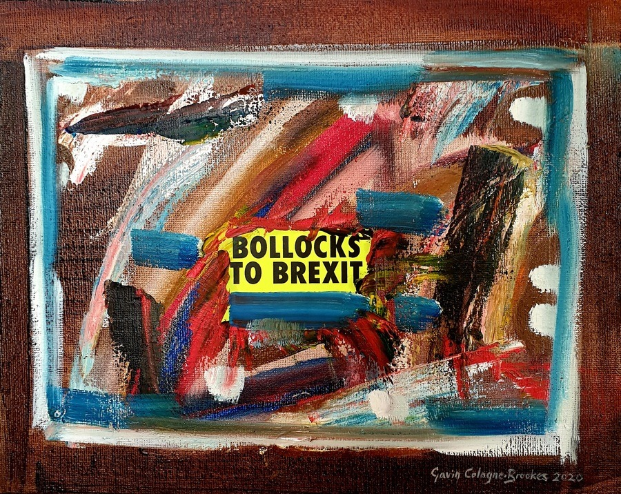 State of the Nation - Oil Painting by Gavin Cologne-Brookes