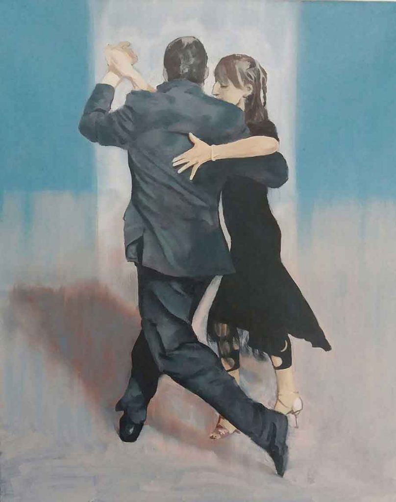 Tango, Buenos Aires - Oil Painting by Gavin Cologne-Brookes