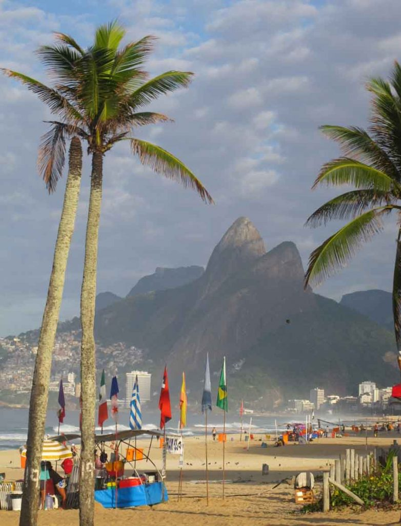 Two Brothers Mountain, Rio - Photograph by Gavin Cologne-Brookes