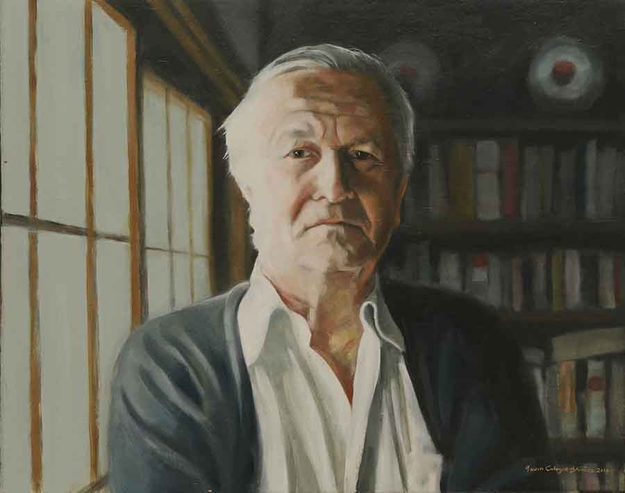 William Styron - Oil Portrait Paintings and Book Covers by Gavin Cologne-Brookes