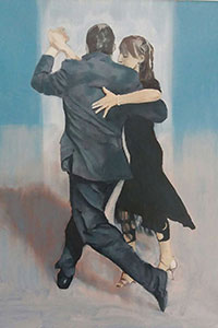 Tango, Buenos Aires (2019) - Oil Paintings by Gavin Cologne-Brookes