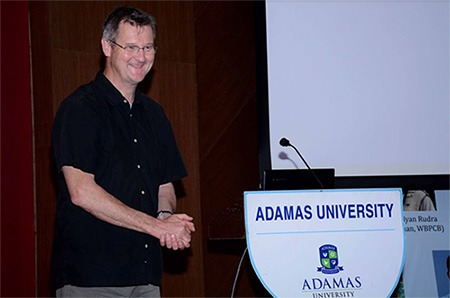 Gavin Cologne-Brookes at Adamas University