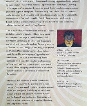 Back Cover Portrait of William Hughes