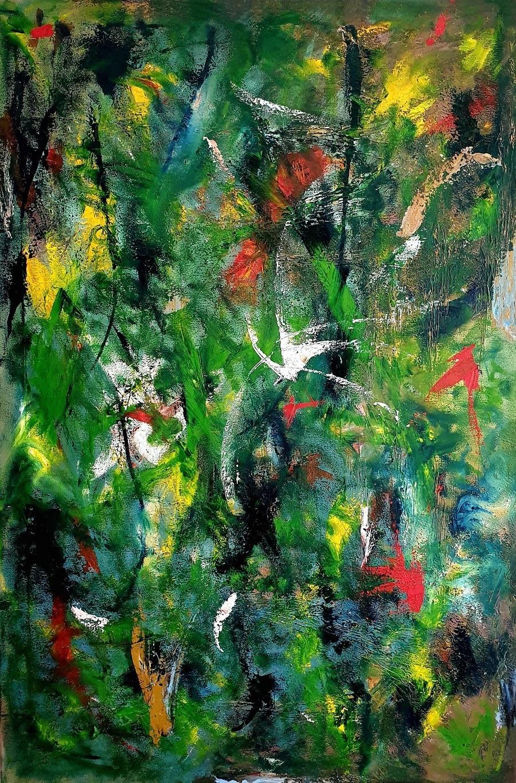 Bois de Boulogne - Painting by Gavin Colgne-Brookes