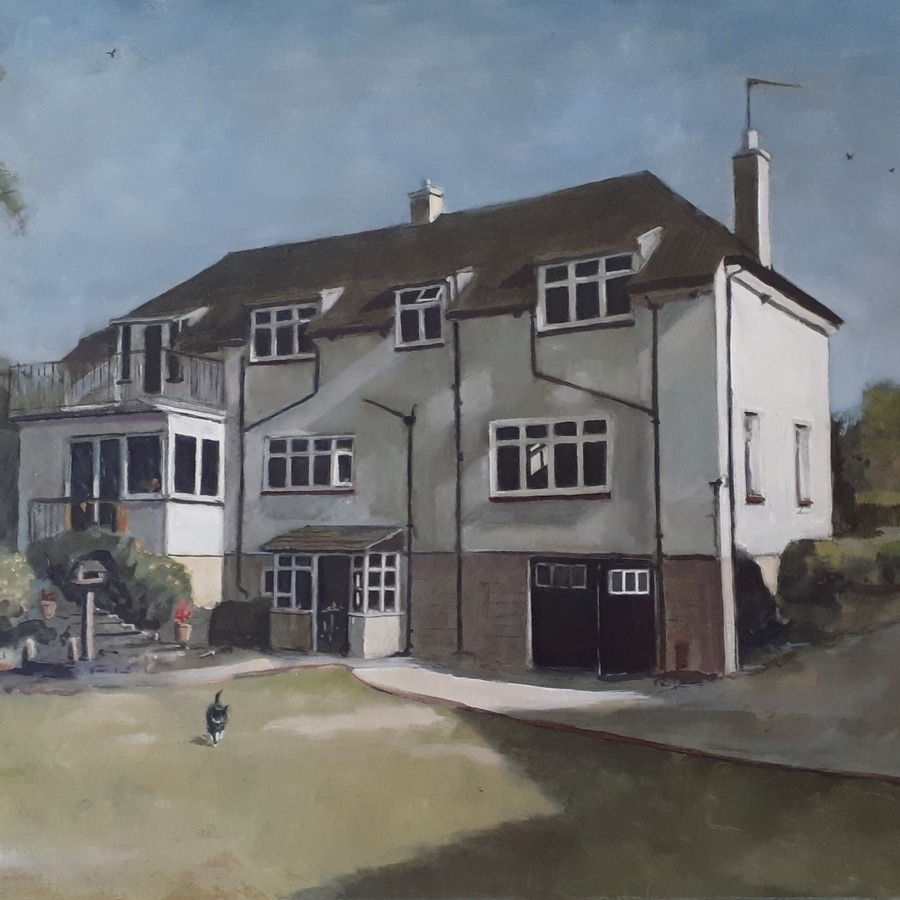 Master of the House - paintings by Gavin Cologne-Brookes